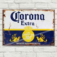 ERDINGER WEISSBRÄU Deutschland Bière Métal Tin plaque signe Man Cave Pub Club Bar