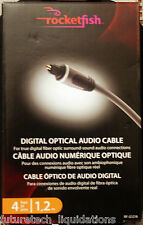 ROCKETFISH DIGITAL OPTICAL AUDIO CABLE 4FT / 1.2M - RF-G1218