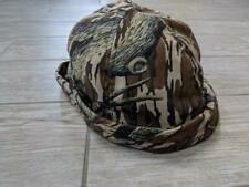 vintage GORE-TEX camouflage MOSSY OAK hunting hat LARGE thinsulate bucket tapper