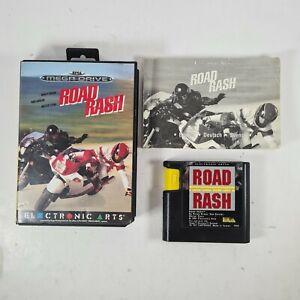 Road Rash Sega Mega Drive with manual & free uk postage