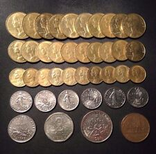 Old France Coin Lot - Big Lot - 40 High Quality Coins - FREE SHIPPING!