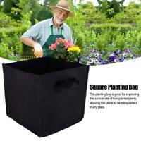 Fabric Plant Pots Grow Bags Containers 3/5/7/10/15/25 Gallon With Handles Hot