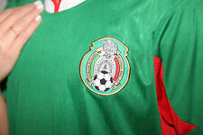 Mexico Soccer T-Shirt - Green/Red - Mens Extra Large Sale
