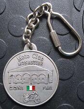 MOTO CLUB MONASTIER 26. Motoraduno 2001 SCHLÜSSELANHÄNGER Plakette Medaille gut1