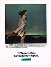 PUBLICITE  1974   LA REDOUTE  vente par correspondance