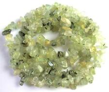 5-10mm Green Grossular-Garnet Chips Long Items beads 34''