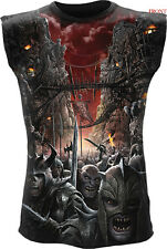 Spiral Direct DEVILS PATHWAY Sleeveless/Skull/Reaper/Darkwear/Horror/Tang/Top