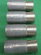 "4 RAWL 5/8"" CONCRETE TAPERED CONE WEDGE ANCHOR DROP-IN MOUNT FASTENER HAMMER SET"
