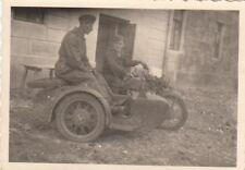 1796, Privat Foto wohl Russland Motorrad mit tollem Beiwagen !