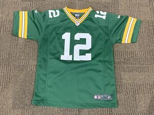 Youth Nike Aaron Rodgers Green Bay Packers NFL On Field Jersey, Lg