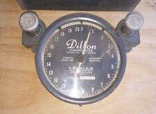 Vintage Dillon AP  Dynamometer 6 in dial 20000 x 250 lb Increments w/Metal Case