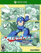 Mega Man Legacy Collection 1-2-3-4-5-6 Xbox One Brand New Factory Sealed