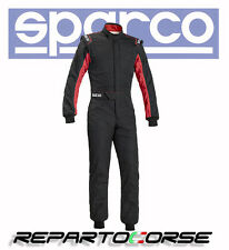 Suit Racing Sparco Sprint Rs-2.1 Two-Coloured Black-Red - Fia 8856-2000 - 001091