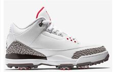 Sz 9, 9.5 - Jordan 3 Retro White Cement GOLF 2018 Men's