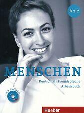 Hueber MENSCHEN A2.2 Deutsch als Fremdsprache ARBEITSBUCH mit AUDIO CD @New@