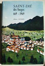 Saint-Dié des Vosges 669-1969 Albert RONSIN Auto édition de 1969 N° 1083 + carte