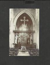 Vintage Black&White Real Photo Greeting Postcard Loving Easter Thoughts unposted