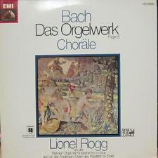 """Bach(2x12"""" Vinyl LP Gatefold)Das Orgelwerk Chorale-HMV-151 14 119/20-UK-Ex-/NM"""