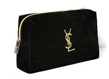 YSL Saint Laurent Golden Embroidery LOGO Cosmetic Bag VIP Gifts