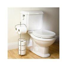 Toilet Paper Holder Classic Roll Stand Bathroom Storage Rack Tissue Organizer