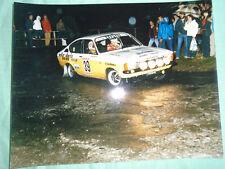 Opel Rallying photo brochure c1983 by Foto Don No 17