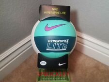 NIKE HYPERSPIKE LITE INDOOR GAME BALL VOLLEYBALL, NEW, OFFICIAL SIZE (5), GREENS