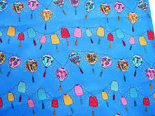 Cotton Quilt Fabric Christmas 1993 Mouse Feathers Bthy