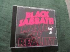 "CD ""MASTER OF REALITY"" Black Sabbath"