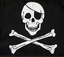 Large Skull & Crossbones Pirate Flag Jolly Roger With Grommets 5' x 3' Us Seller