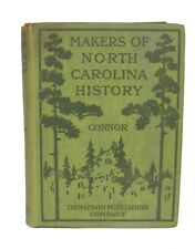 North Carolina History by R. D.W. Connor - 1920