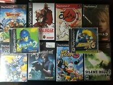 Sony PS1 & PS2 Games Lot- You Pick- many black label complete CIB- all tested