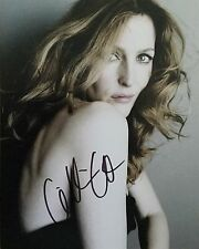 Gillian Anderson (Scully) Signed 10x8 Photo Image B UACC Registered Dealer