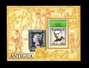 Barbuda 1979 Rowland Hill Miniature Sheet MS MNH UM unmounted mint
