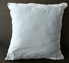 Nautica Charleston Blue Square Pillow pin-tuck edged 16 in x 16 in