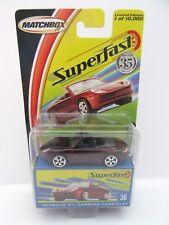2004 Matchbox Superfast No.36 Porsche 911 Carrera Cabriolet - Mint/Boxed