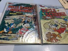 2 Walt Disney's Uncle Scrooge Gladstone Giant No. 242 and 20 Comic Books