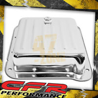 Ford C4 Steel Transmission Pan (Pan Fill Style) - Chrome