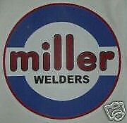 "Miller Electric Arc Welders, Millermatic  Historic 6"" 4-Color Decal ,NEW 1-Pair"