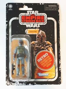 Star Wars The retro collection Boba fett sealed on card