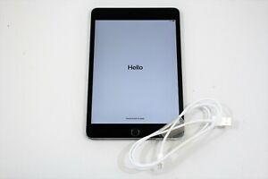 """Apple iPad Mini 4th Generation A1538 7.9"""" 64GB Wi-Fi Space Gray - MK6K2LL/A"""