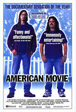 AMERICAN MOVIE: THE MAKING OF NORTHWESTERN Movie POSTER 27x40 Mark Borchardt Tom