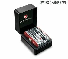 1.6795.XAVT VICTORINOX SWISS ARMY POCKET KNIFE - SWISS CHAMP XAVT NEW 2017 !!!!!