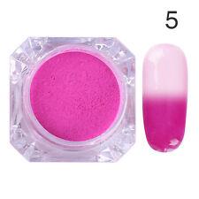 BORN PRETTY Nail Color Changing Thermal Glitter Powder Manicure Gradient Pigment