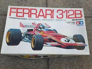 Ferrari 312B1970 F1 TAMIYA kit Nr. BS1207 1/12 Angefangen & Unvollständig