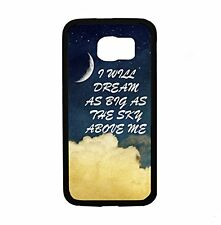 Sky Above Me Quote for Samsung Galaxy S6 i9700 Case Cover