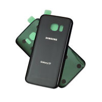 OEM BLACK Battery Back Door Glass Cover Replacement For Samsung Galaxy S7 G930