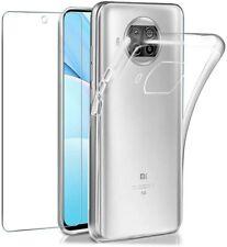 Deckelgehäuse + Schutzfilm Glas Gehärtetes Für Xiaomi MI 10T LITE Transparent 5G