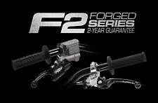 ASV F2 PAIR PACK Brake & Clutch Levers Yamaha TTR 50/90/110E/125E (03-17) Black