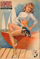 GONDEL - Zeitschrift Magazin - Heft 5 von 1952 - Models Musik Stories - B15268