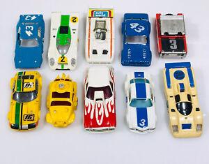 Aurora Afx Used Ho Slot Car Body Lot